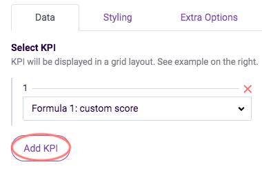 ReportR - select KPI formulas