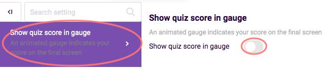 overview quiz features gauge image
