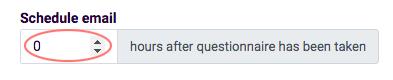 Email templates scheduler