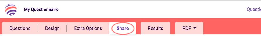 quick start quiz - share tab