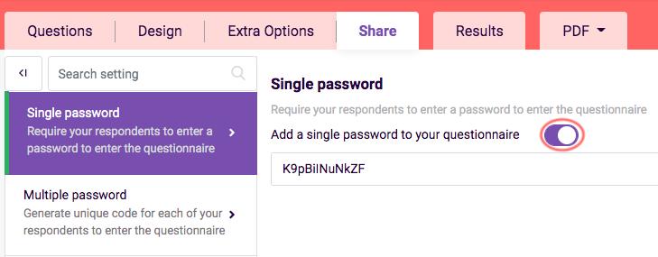 Adding Passwords- Add single password