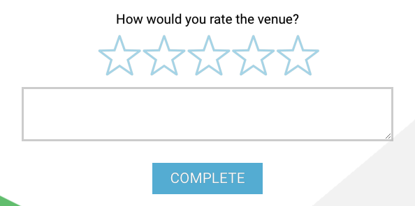 star rating question example