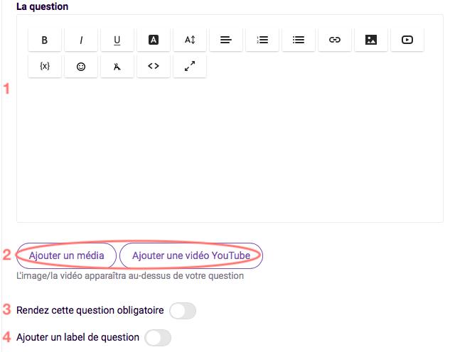Liste de mots - auto suggérés - editer la question