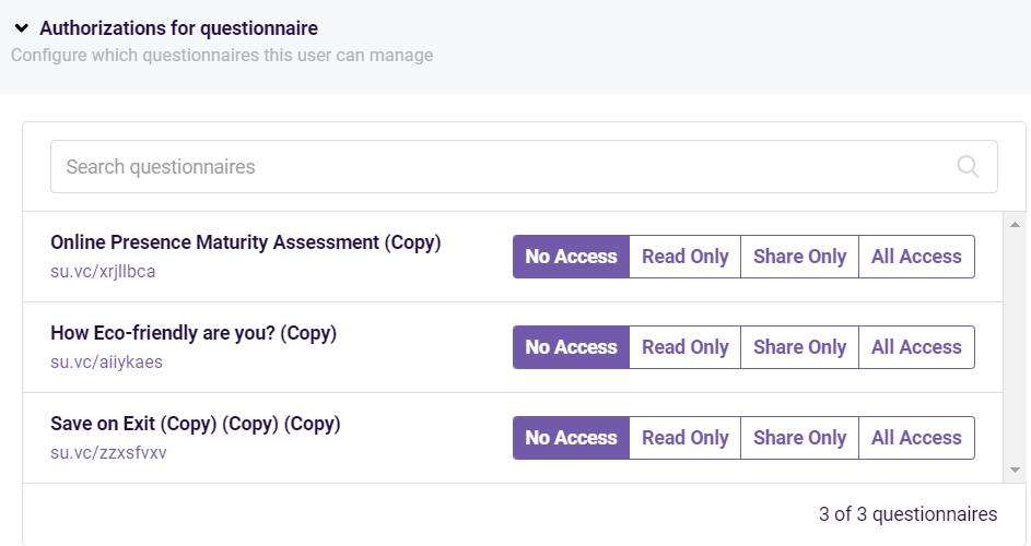 assessment center- authorizations
