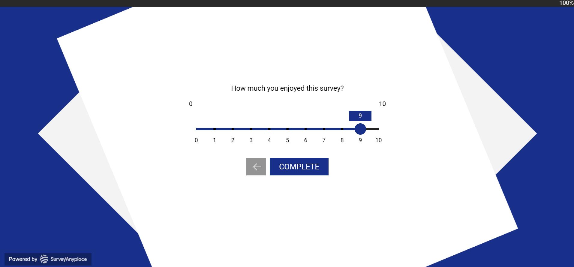 keyword navigation- number slider