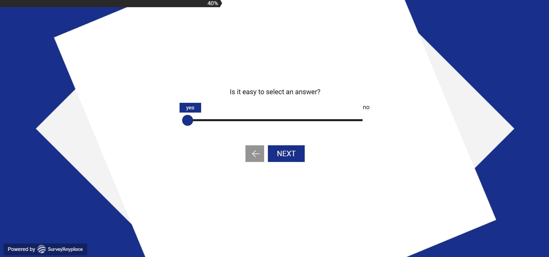 keyword navigation- text slider