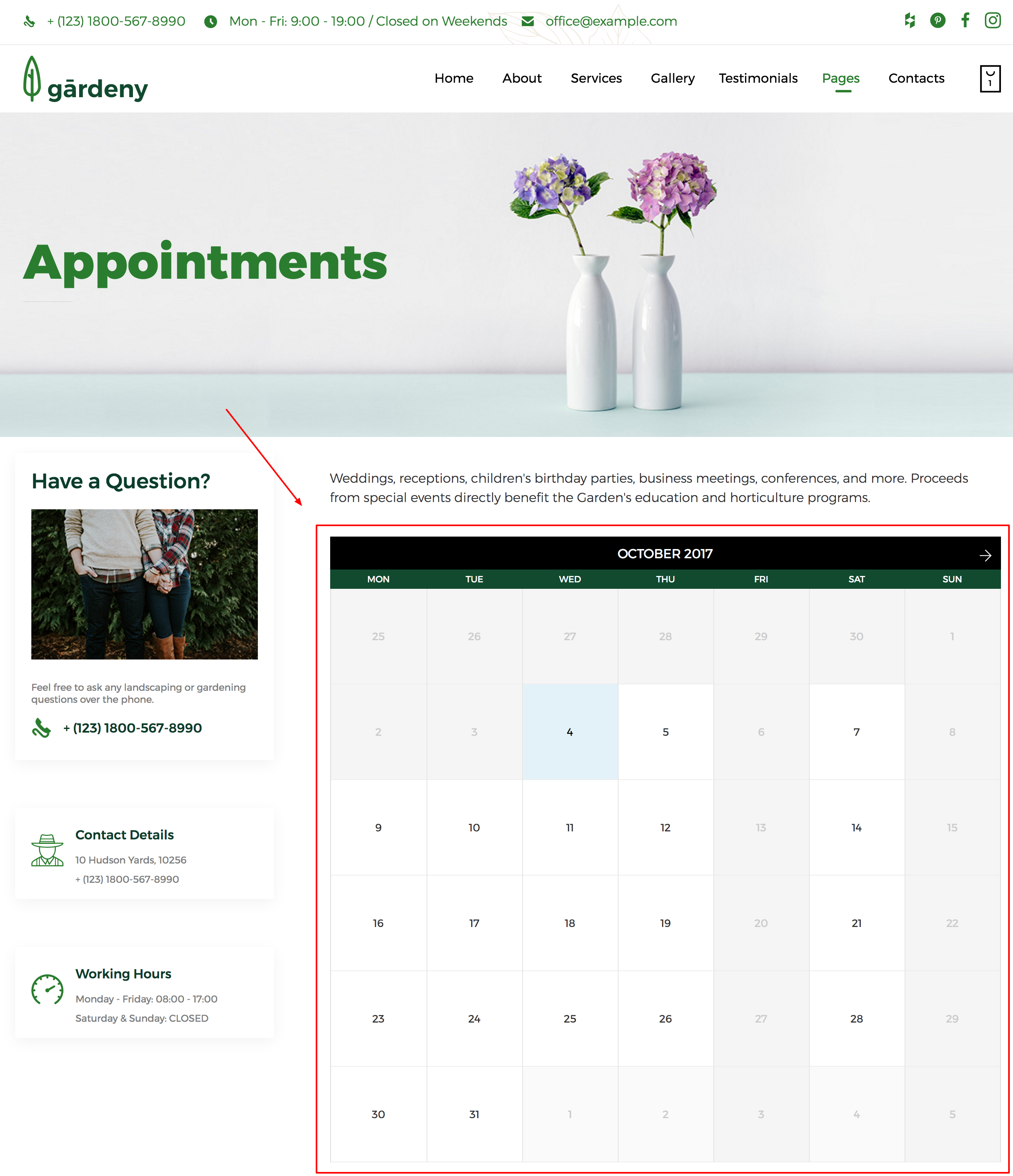 Beaver Builder Theme: Guide to Booked Plugin : Beaver Builder Themes