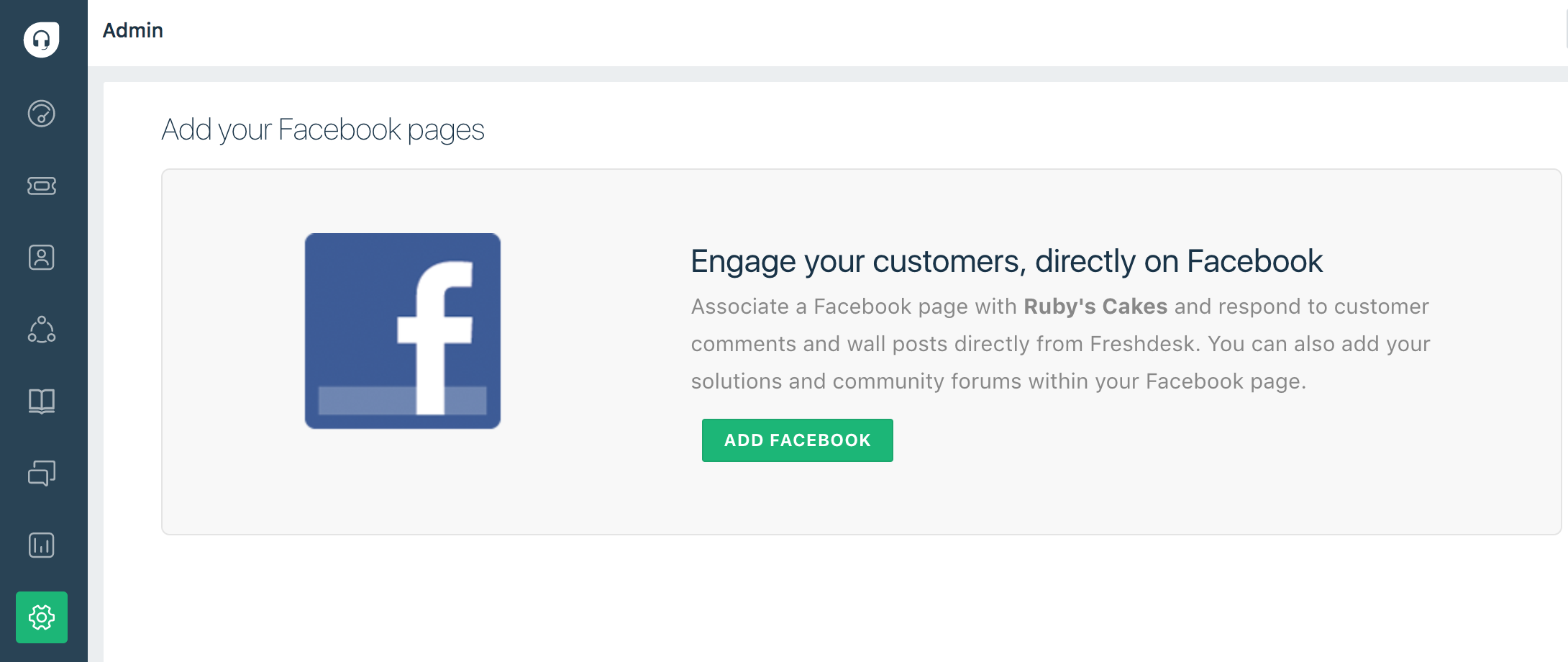 Quick guide to Supporting customers through your Facebook Pages