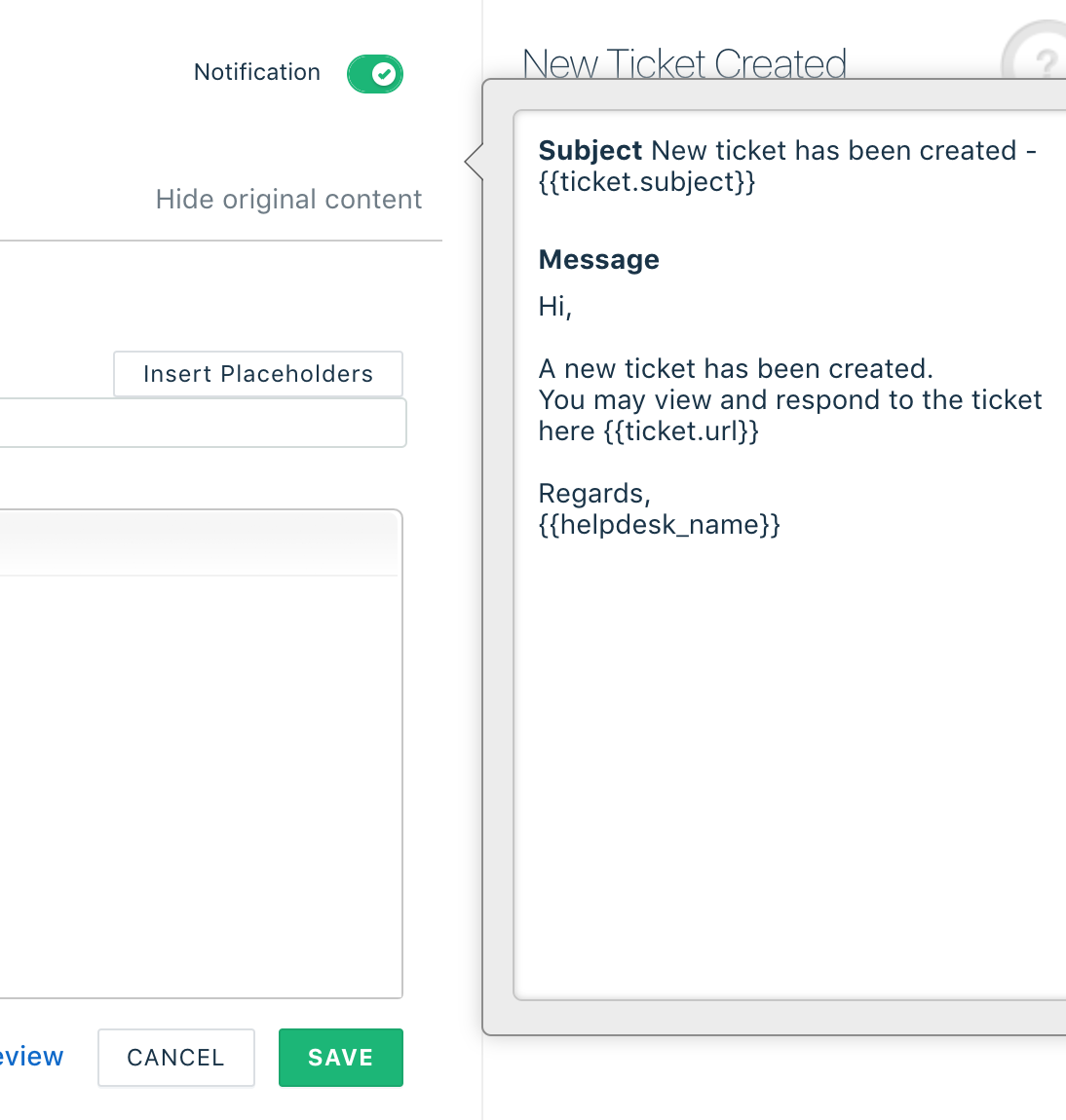 Email notifications in multiple languages : Freshdesk