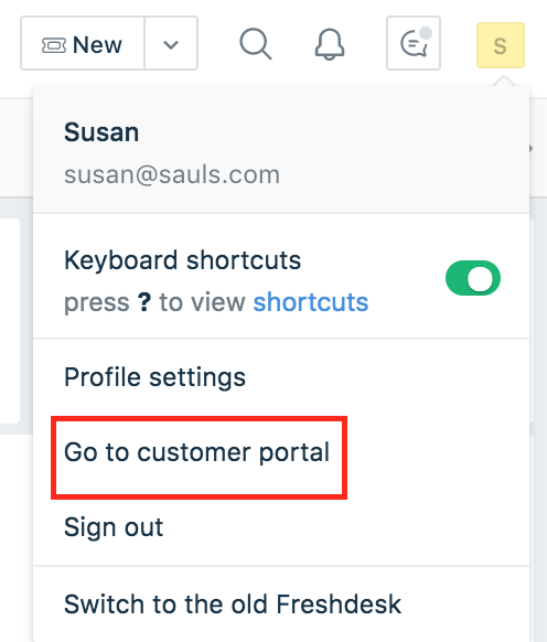 Customizing your public customer portal : Freshdesk