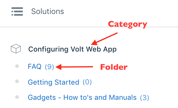 Creating categories, folders & solutions in your Knowledge