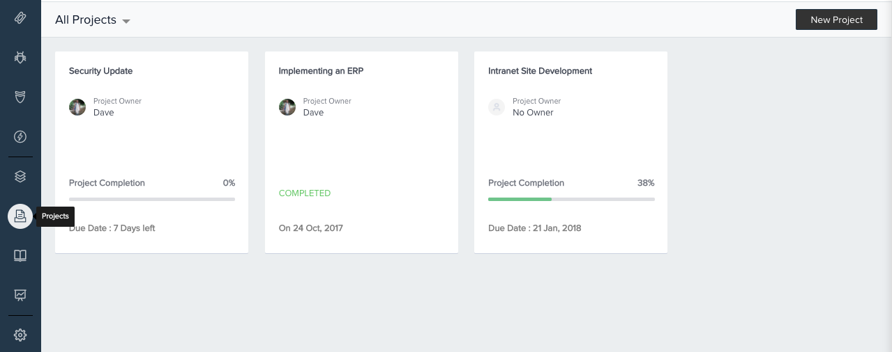 Project Management in Freshservice : freshservice