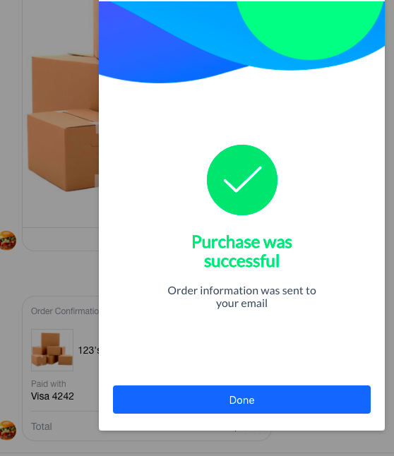 Receive payments with Buy Button : ManyChat