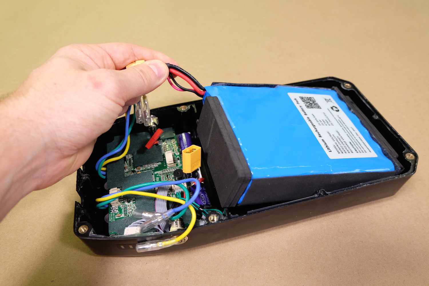 Installing a Pre-Built Battery Box with Motor Controller Kit