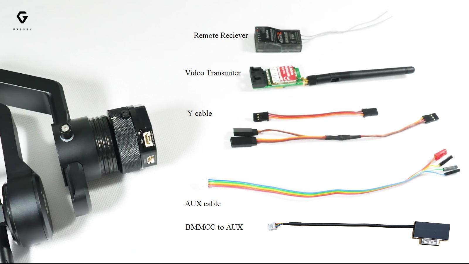 How To Setup With Blackmagic Micro Cinema Camera Gremsy