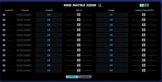 Omnisphere mod matrix