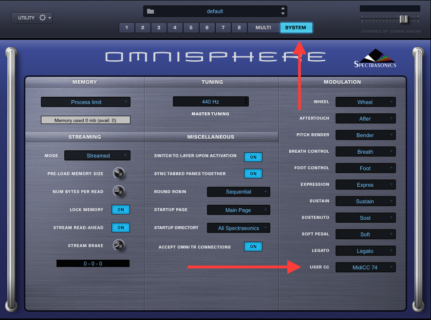 Omnisphere: Using the Seaboard RISE/GRAND with Omnisphere