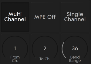 NOISE multichannel mpe off