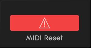NOISE MIDI reset