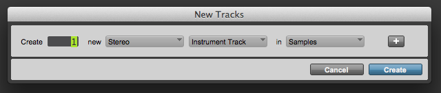 Pro Tools Inst Track