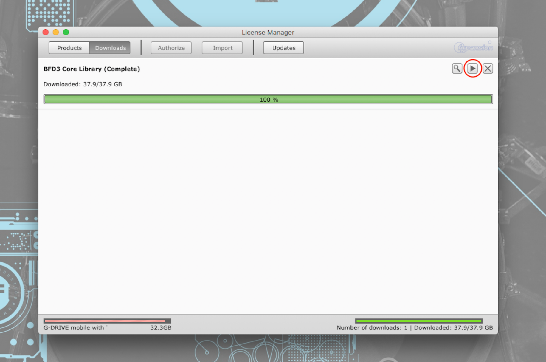 bfd3 torrent library