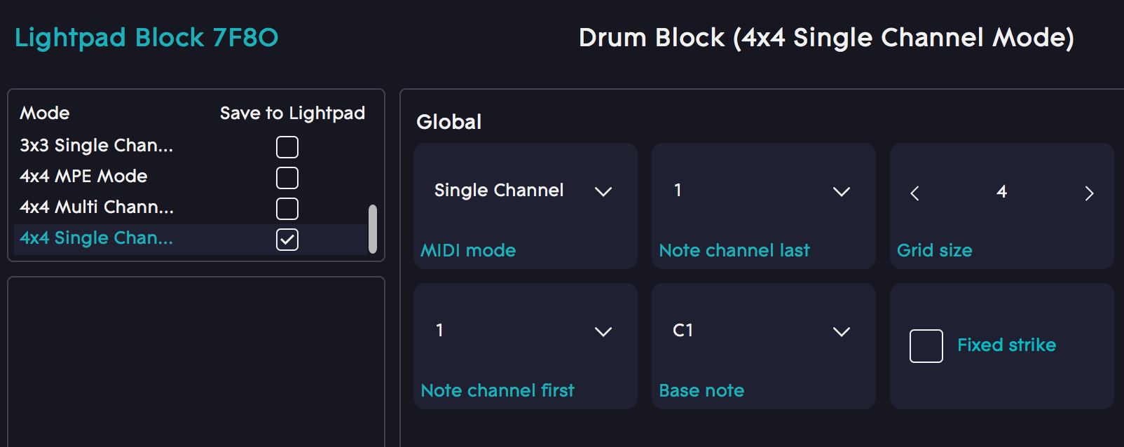 Ableton: Using the Lightpad Block with Ableton Live's Drum Rack