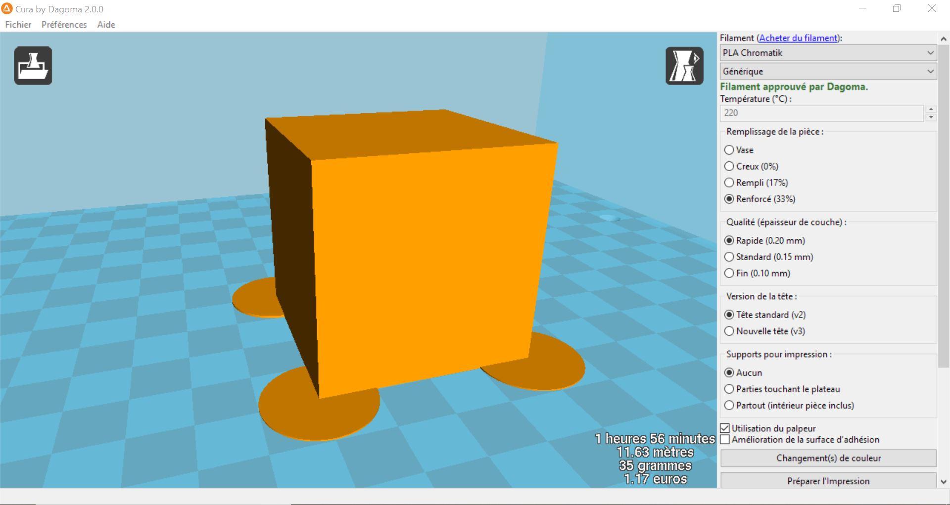 ajouter des pad sur mon mod le 3d avec 3d builder dagoma. Black Bedroom Furniture Sets. Home Design Ideas