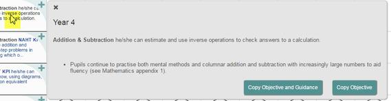 National Curriculum 2014 with KPIs Framework Information :