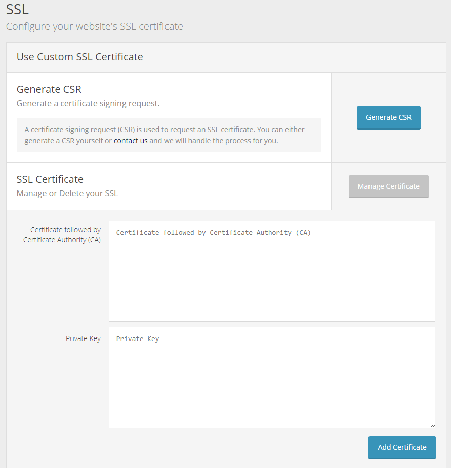 Installing An Ssl Certificate Nimbus Hosting