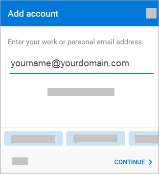 Enter your email address.