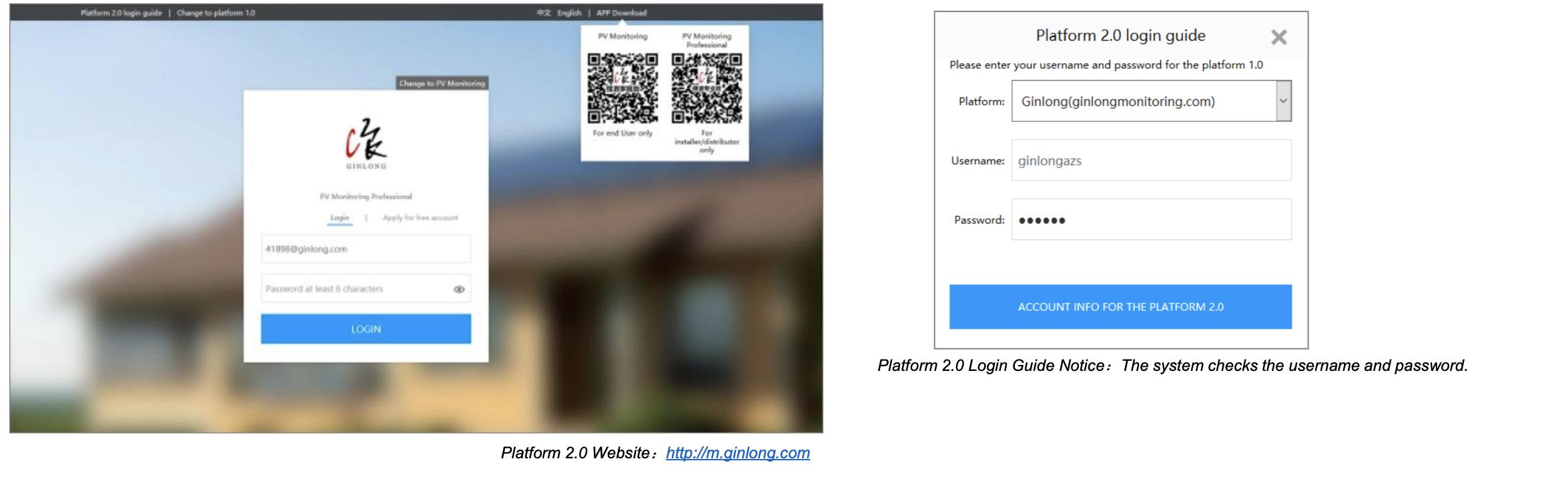 Account Transfer to New Monitoring Platform : Ginlong Solis