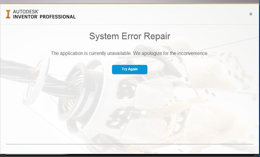 sys error repair