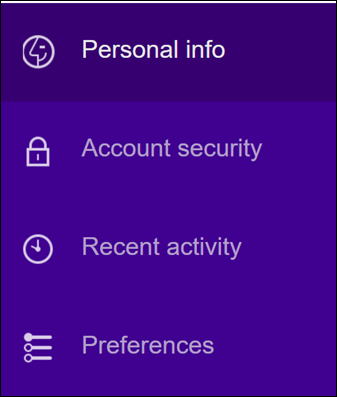 Change your Yahoo account security settings