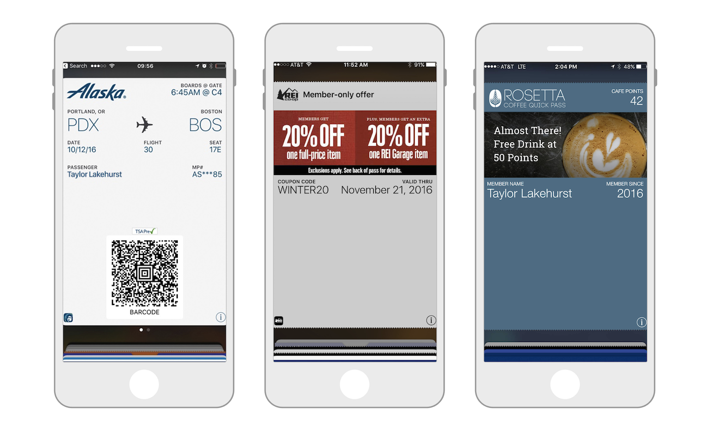 Mobile Wallet Reference