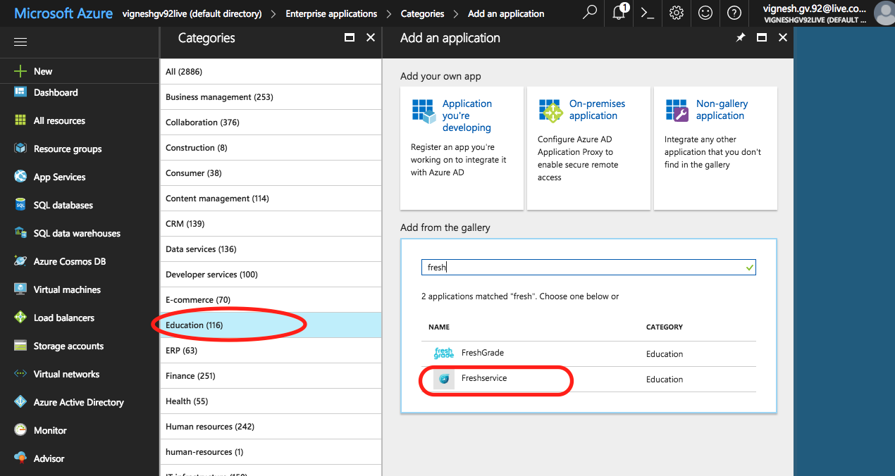 Setting up Microsoft Azure AD Single Sign-on in Freshservice