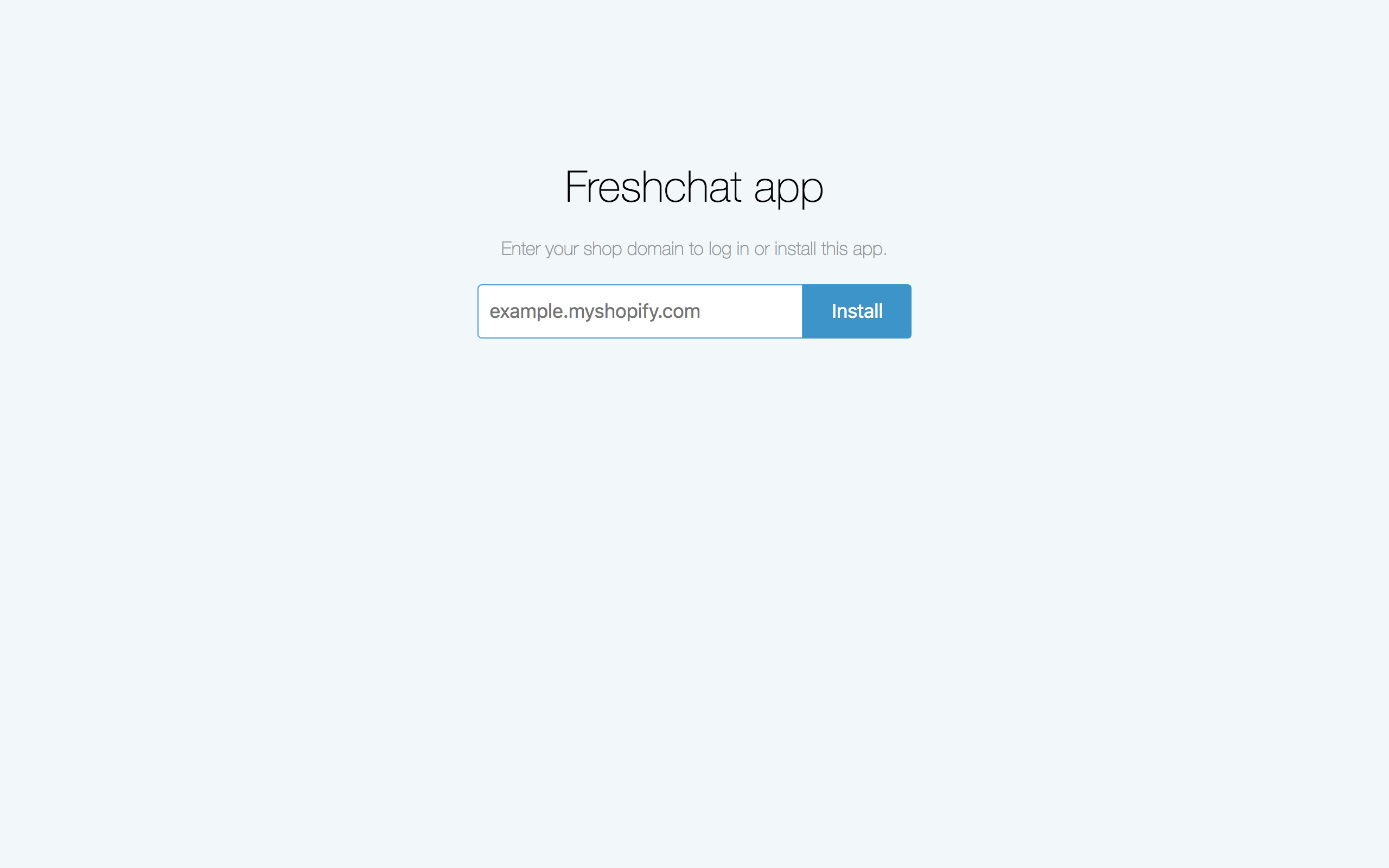 Freshchat - Shopify Integration : Freshchat