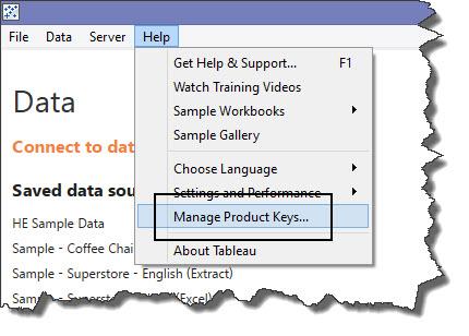 How do I reassign a Tableau Desktop license key? : The