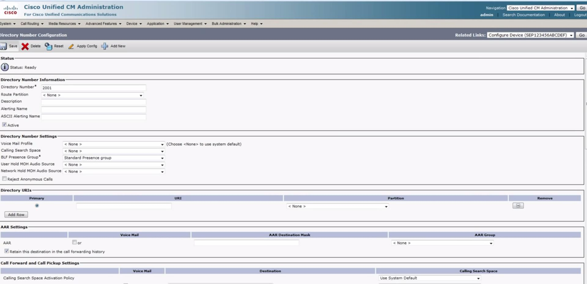 Cisco Unified Communications Manager Integration (CUCM