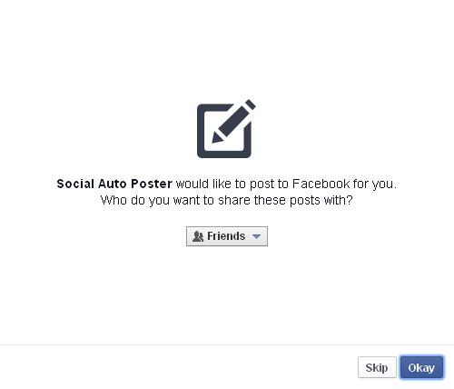 Facebook App Grant Step2
