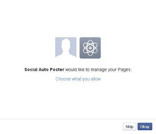 Facebook App Grant Step3