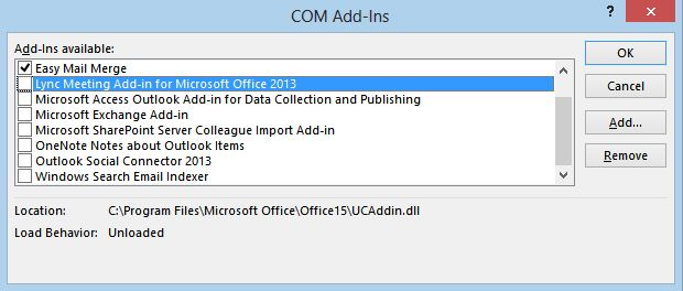 Outlook Add-In marked as inactive : SpamTitan Technical Support
