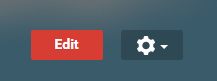 settings cog on google+ page manager