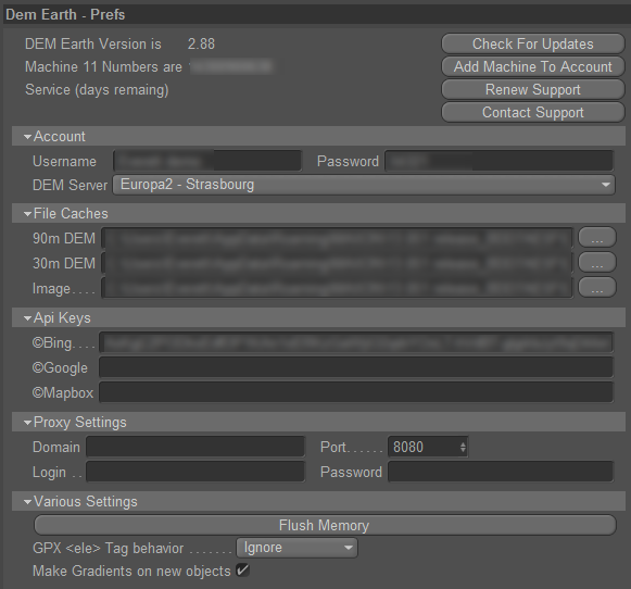 DEM Earth Latest Version : CinemaPlugins com Help and Support