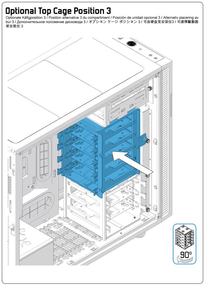 Fractal Design Define R5 Optional Top Hdd Cage Position 3 Fractal Design Support,Modern Living And Dining Room Design Ideas