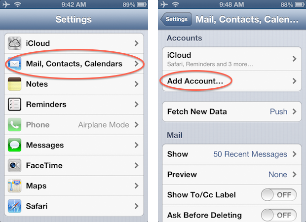 how to add email account to iphone - Monza berglauf-verband com