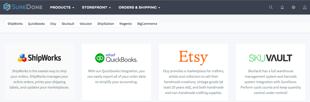 Adding a SureDone Store : ShipWorks Support