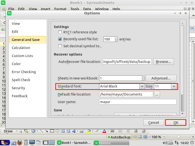 Download How to Set Default Font and Size in WPS Office : HelpDesk ...
