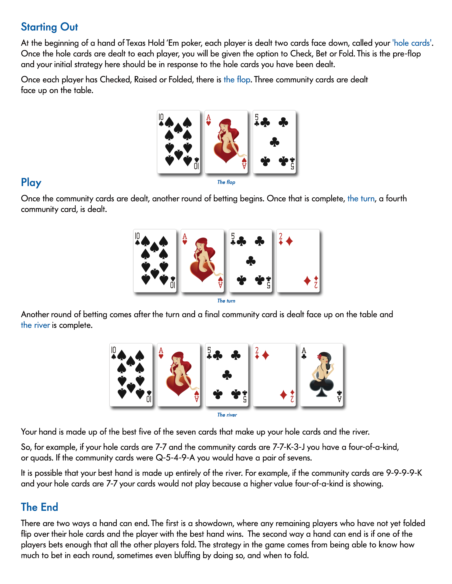 Poker How To Play Texas Holdem