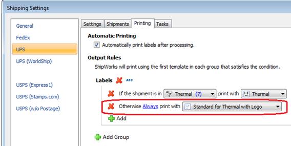 Ups Thermal Label Printer - Trovoadasonhos