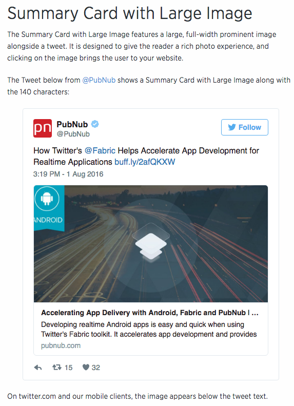 Configuring how posts display as Twitter Cards : Digital